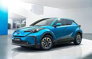 Toyota C-HR w wersji elektrycznej