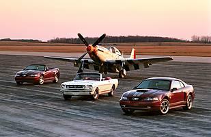 55 lat Forda Mustanga