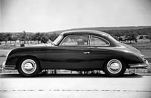 Porsche 530 - czteroosobowy prototyp zbudowany na bazie modelu 356 w latach 50-tych