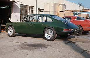Zbudowany w latach 60-tych prototyp czterodrzwiowego Porsche zbudowanego na bazie modelu 911 S