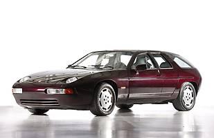 Prototyp czterodrzwiowego Porsche zbudowany w latach 80-tych na bazie modelu 928