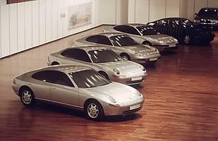 Prototyp czterodrzwiowego Porsche 989 z lat 90-tych