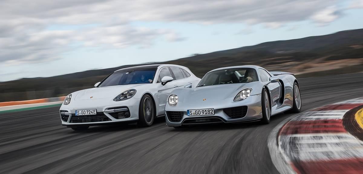 Porsche Panamera ma już 10 lat