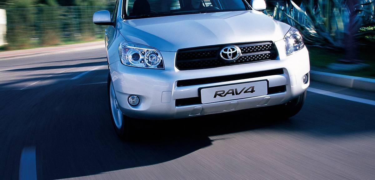 Używane: Toyota RAV4 III
