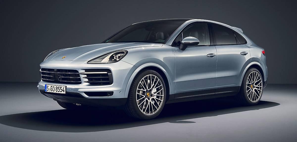 Porsche Cayenne S Coupe nadjeżdża