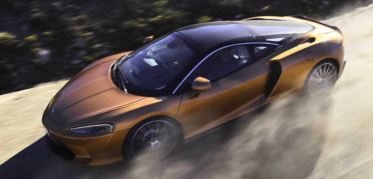 McLaren GT. Rasowe gran turismo