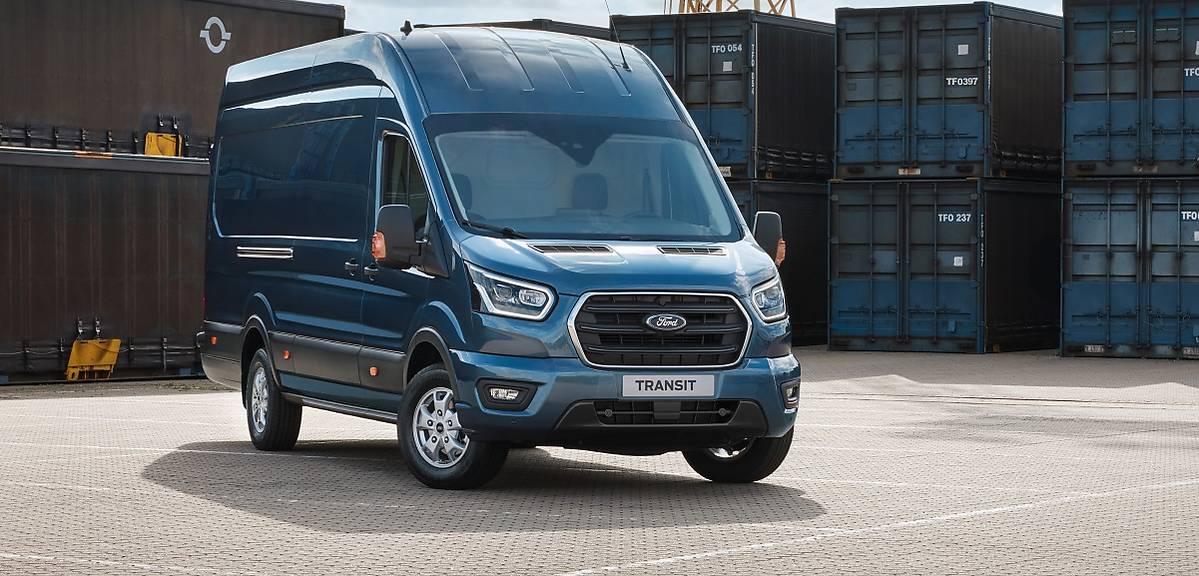 Ford Transit po modernizacji