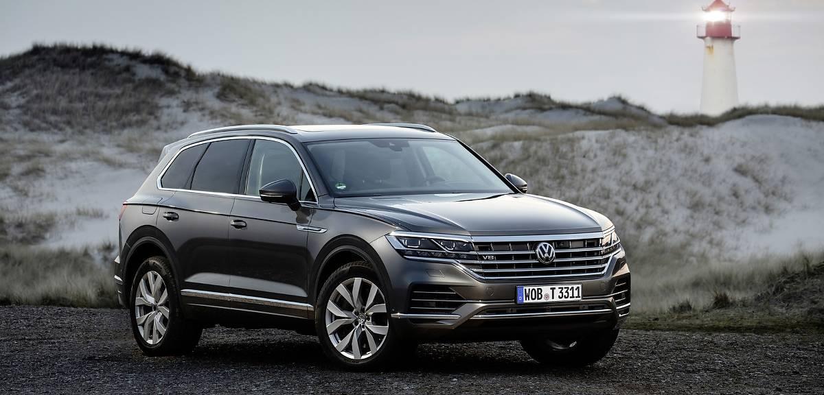 Volkswagen Touareg V8 TDI wchodzi na rynek