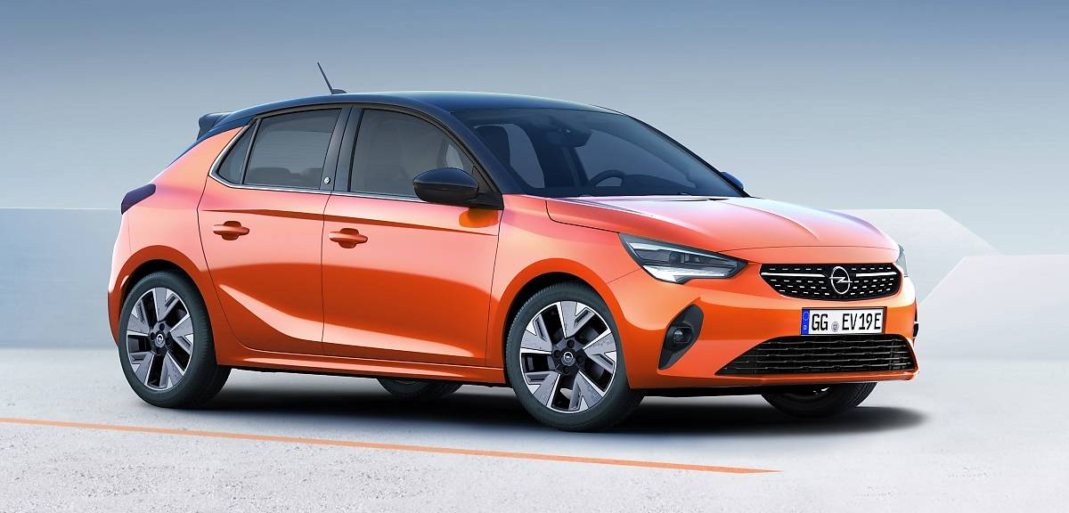 Opel Corsa VI generacji. Również na prąd!