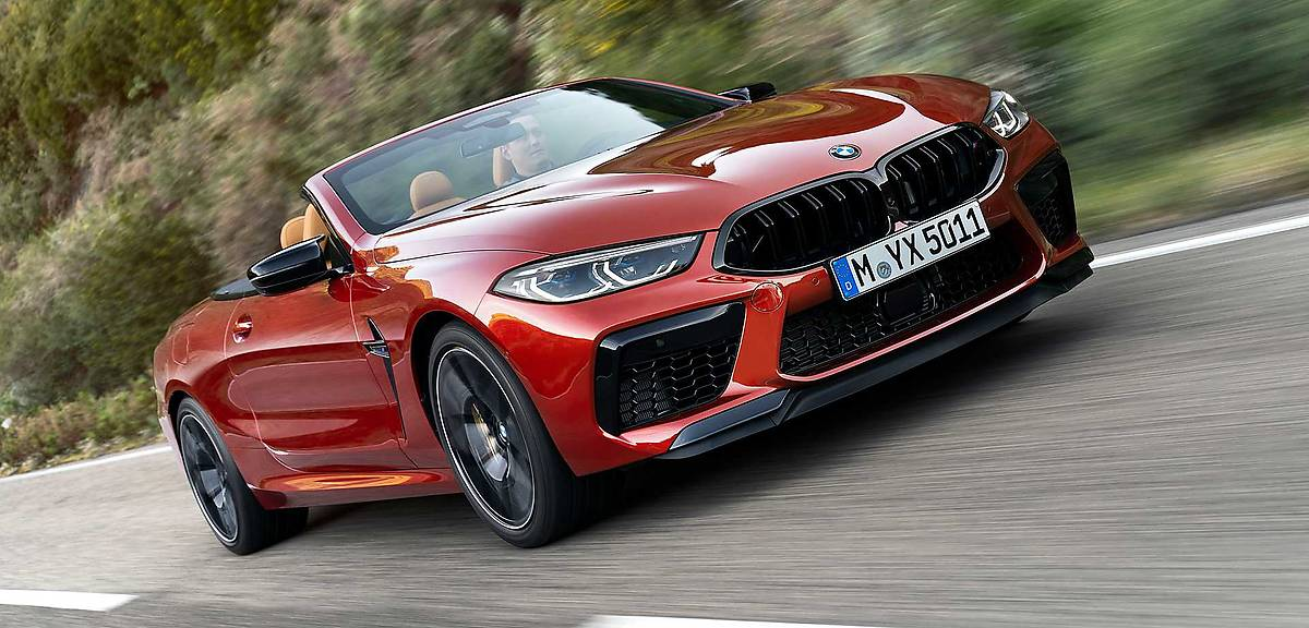 BMW M8. Pierwsze w historii!