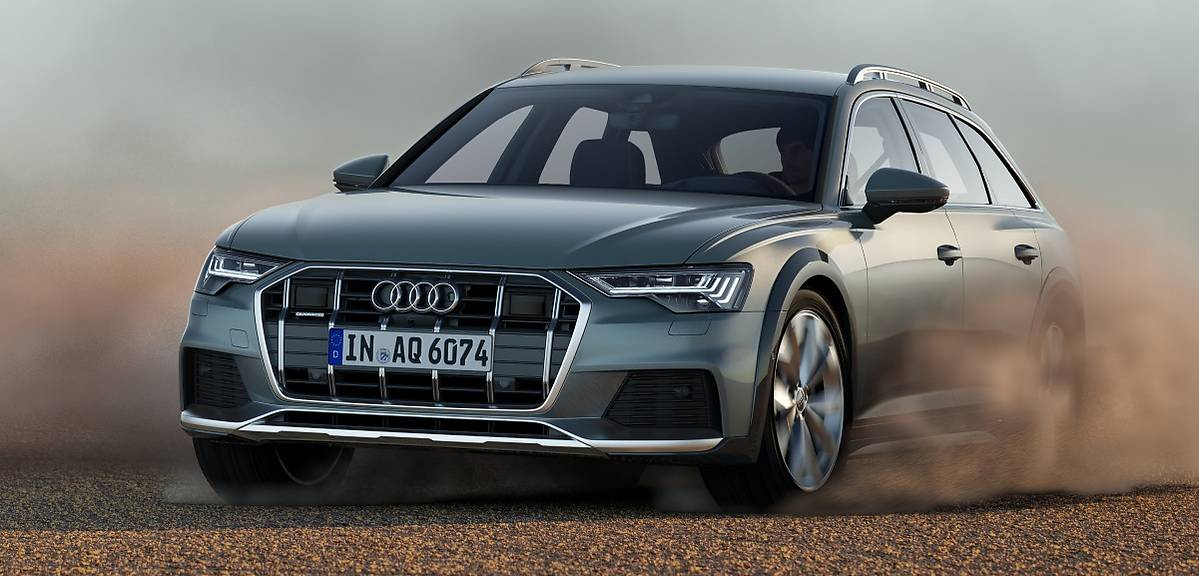 Nowe Audi A6 allroad quattro