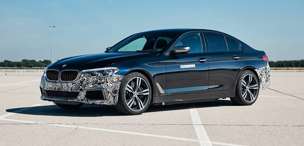 BMW Power BEV o napędzie elektrycznym