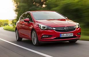 Opel Astra po liftingu