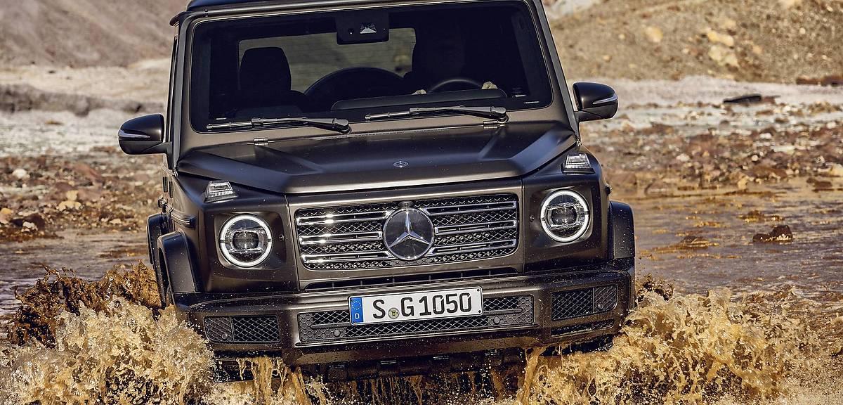 40 lat Mercedesa Gelandewagen