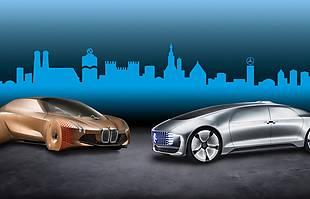 Mercedes i BMW razem!