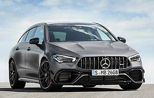 Mercedesy-AMG A45, CLA 45 i CLA Shooting Brake