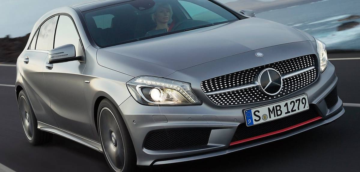 Używane: Mercedes klasy A W176
