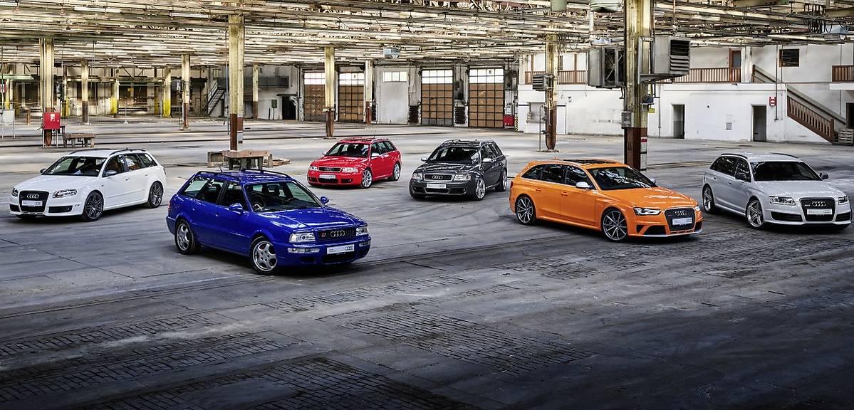 25 lat Audi RS