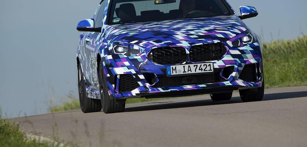 BMW Gran Coupe na zdjęciach