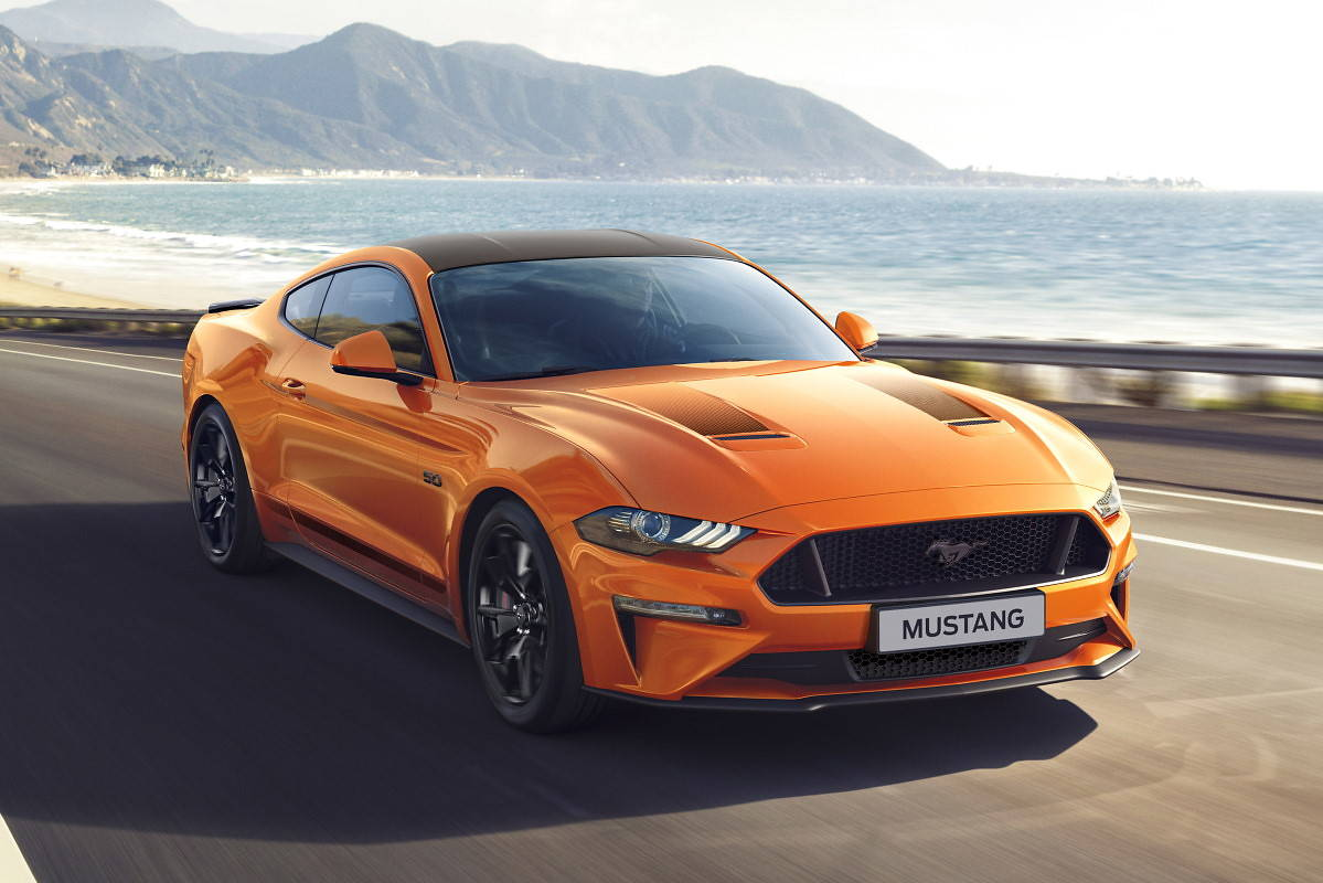 Ford Mustang55. Na 55-lecie modelu