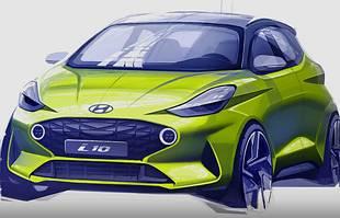 Nowy Hyundai i10. Pierwsze grafiki