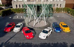 Wszystkie generacje Porsche 911: 997.2, 997.1, 996.1, 996.2, 991.1, 991.2
