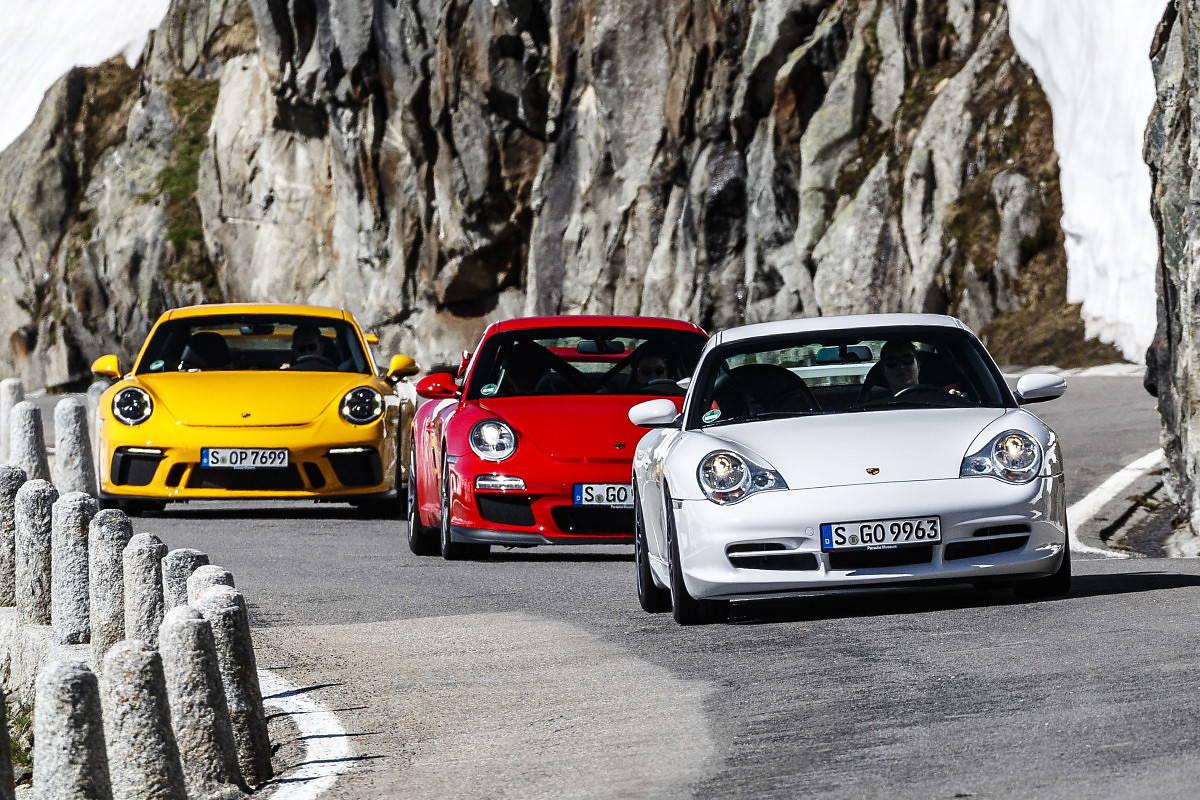 20 lat Porsche 911 GT3