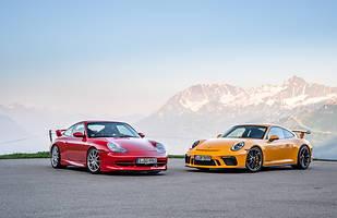 20 lat Porsche 911 GT3: 996.1 i 991.2 (generacja pierwsza i ostatnia)