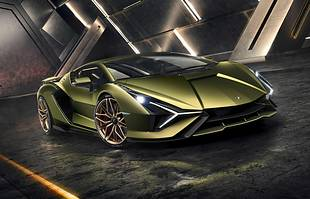 Lamborghini Sian. Pierwsza hybryda!