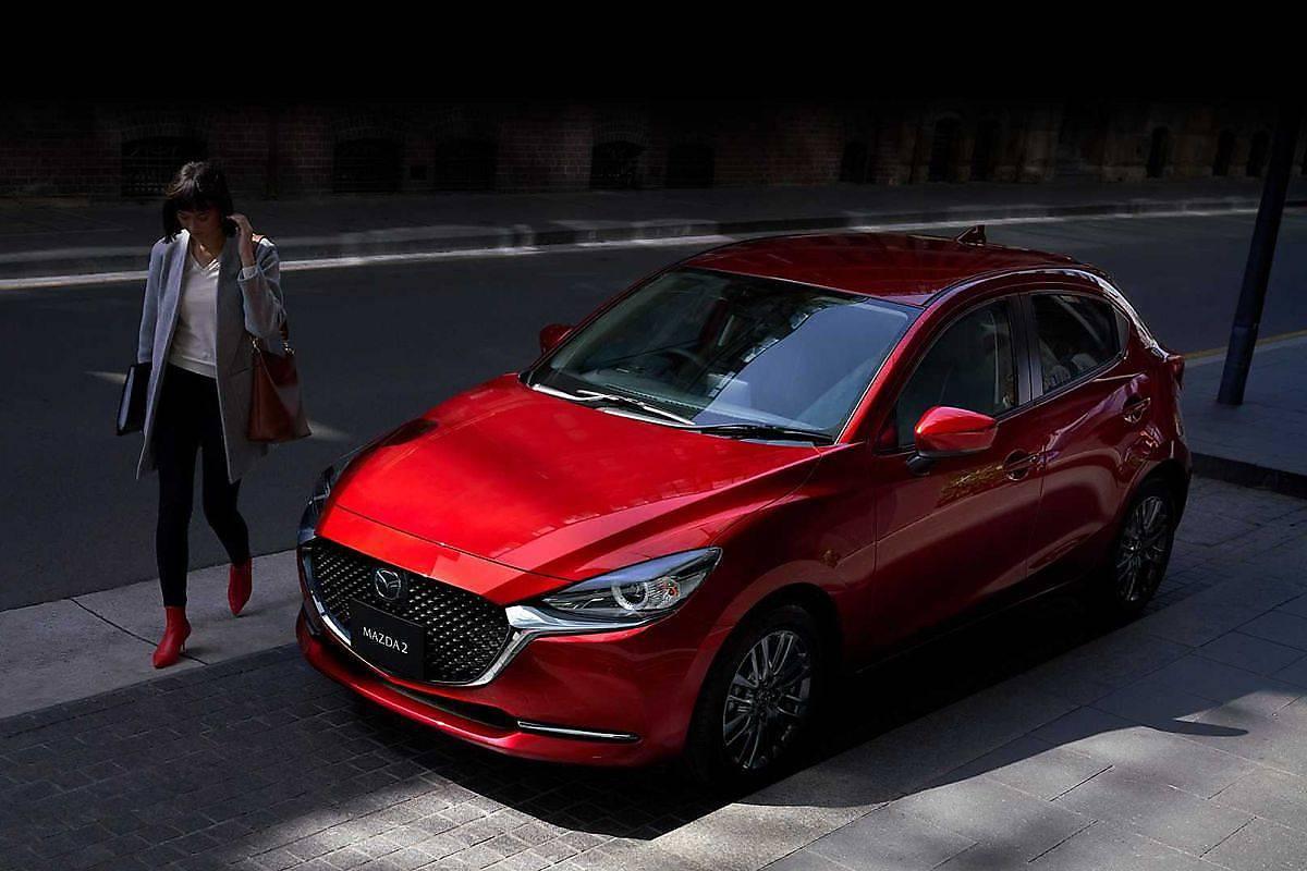 Mazda 2 po liftingu. Polskie, wysokie ceny