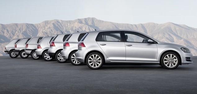 40 lat Volkswagena Golfa