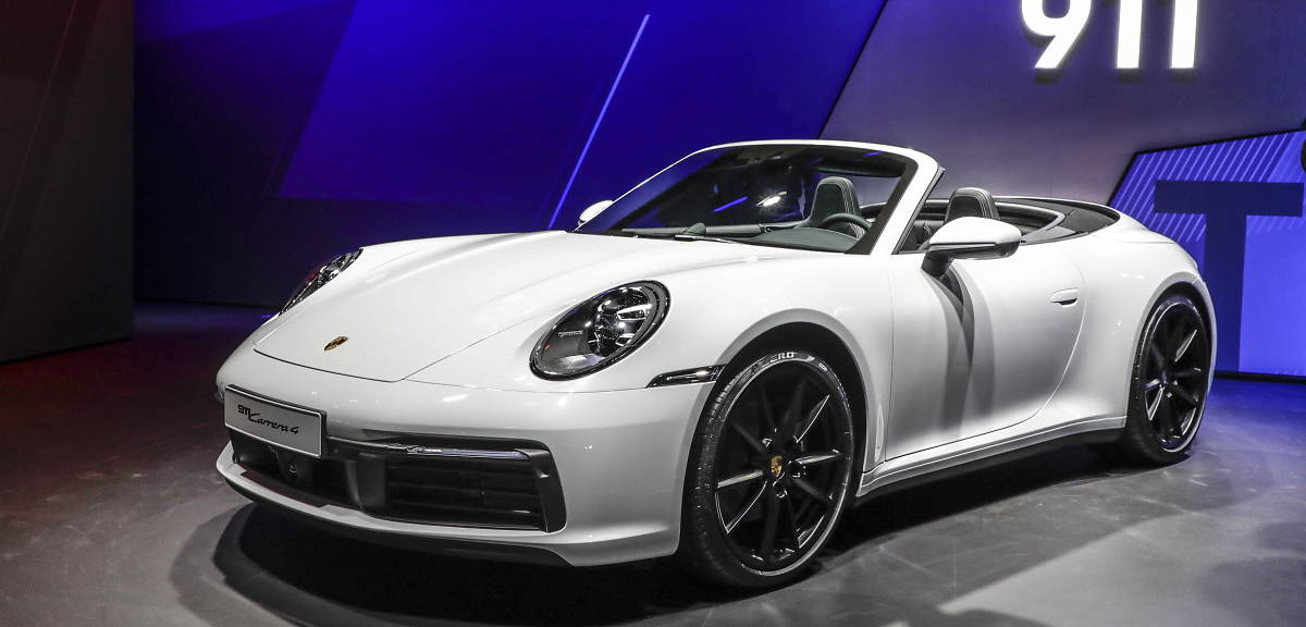 Porsche 911 Carrera 4. Z napędem na wszystkie koła