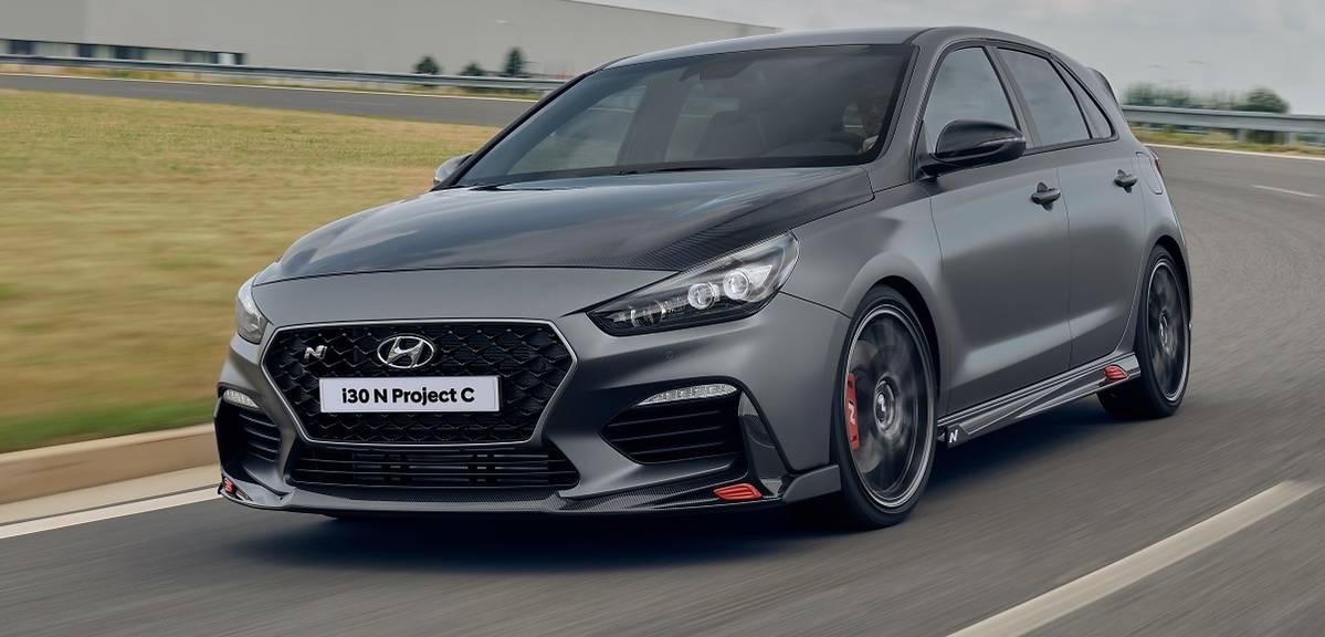 Wyjątkowy Hyundai i30 N Project C