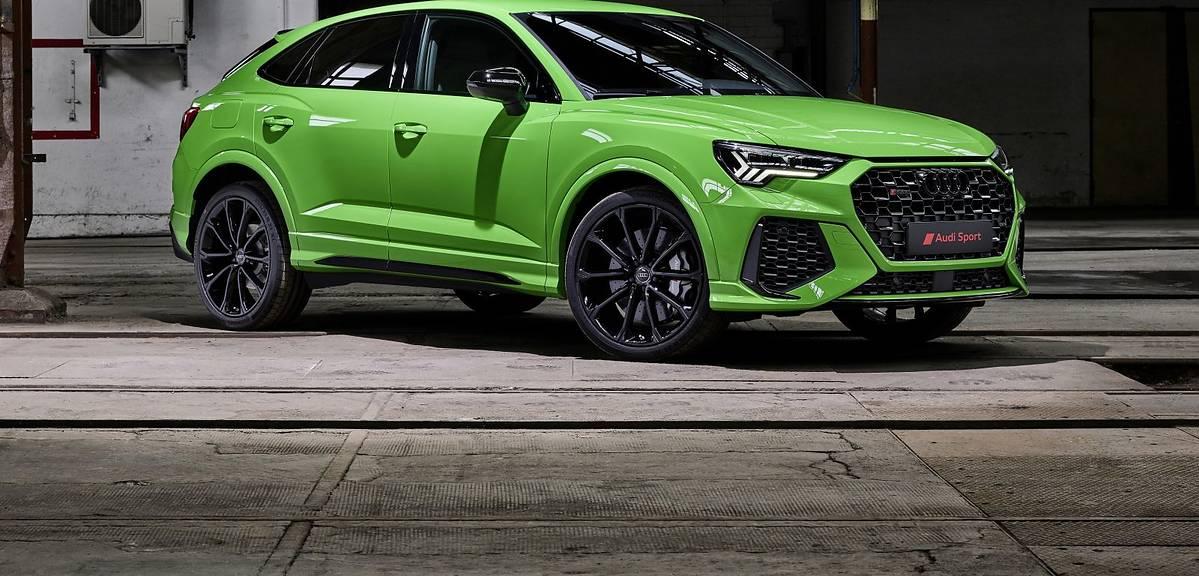 Audi RS Q3 i RS Q3 Sportback już w produkcji!