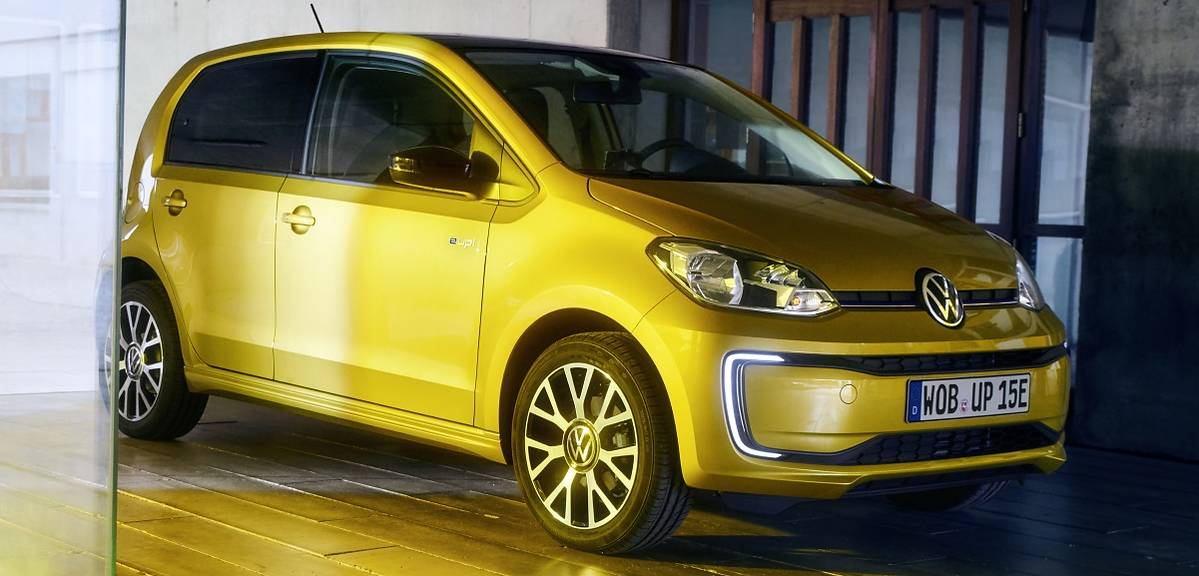 Volkswagen e-up! po liftingu z niższą ceną