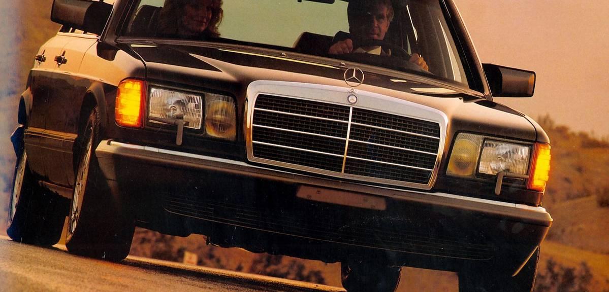 40 lat klasy S W126