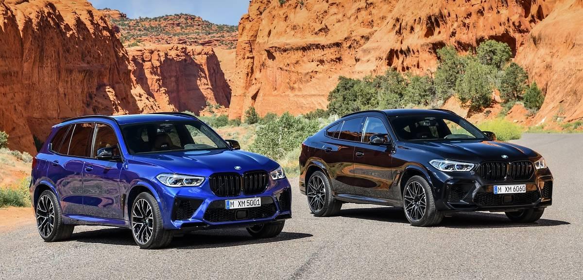 Nowe BMW X5 M i BMW X6 M