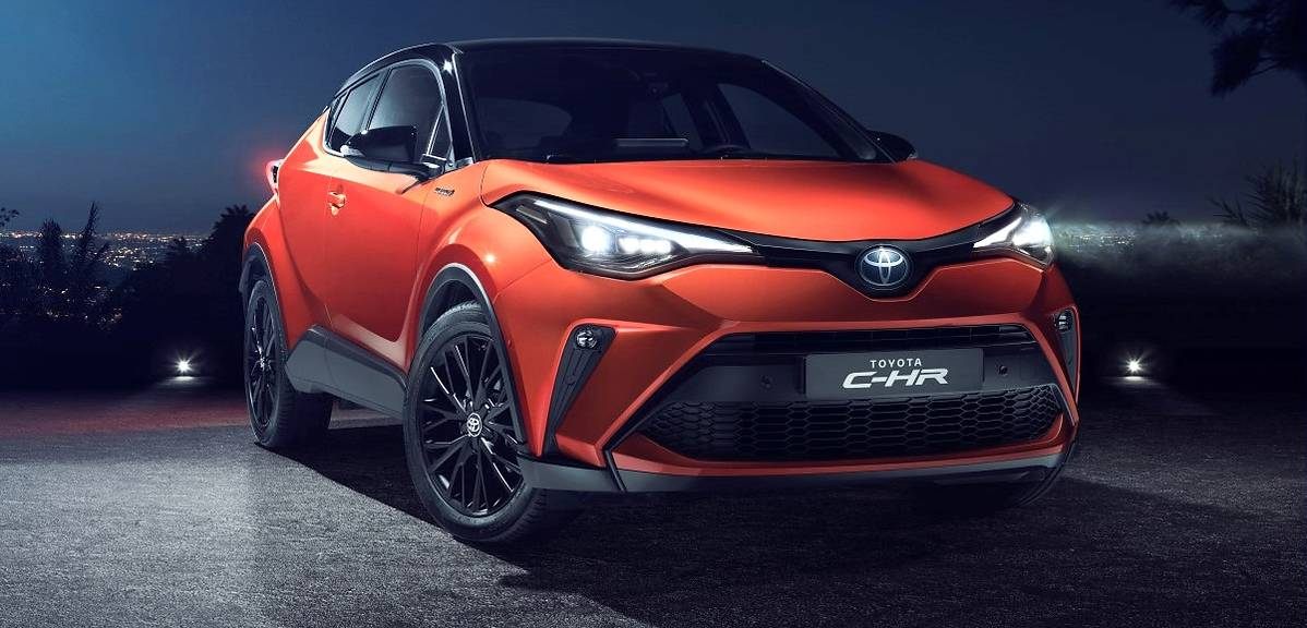Toyota C-HR po liftingu