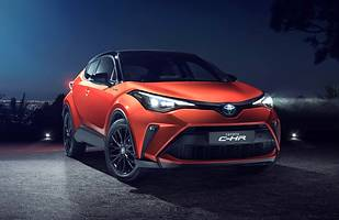 Toyota C-HR po liftingu