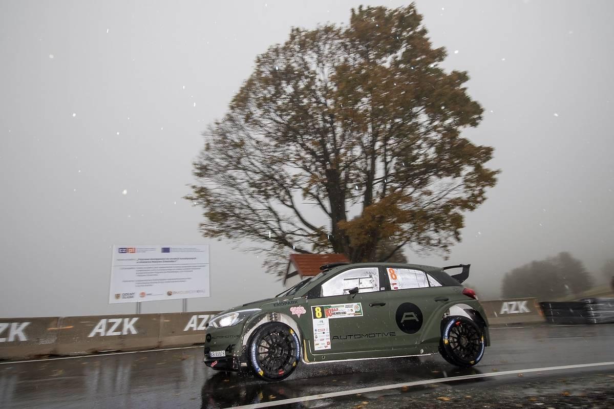 Bryan Bouffier i Xavier Panseri (Hyundai i20 R5) zwyciężają na Dolnym Śląsku