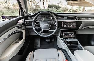 Audi e-tron z większym zasięgiem