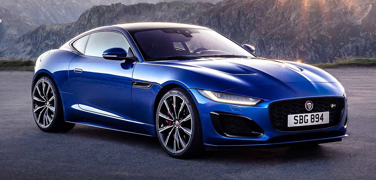Jaguar F-type po liftingu