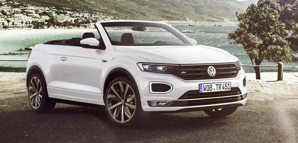 Volkswagen T-Roc Cabriolet w produkcji