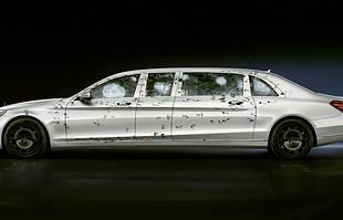 Opancerzone Mercedesy