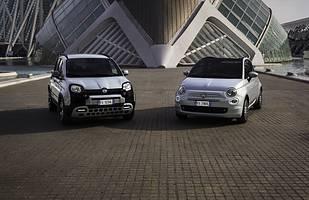 Panda i Fiat 500 Hybrid z mikrohybrydą