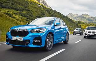 BMW X1 i X2 jako hybrydy plug-in