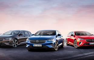 Opel Insignia - gama modelowa