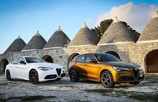 Alfa Romeo Giulia i Alfa Romeo Stelvio
