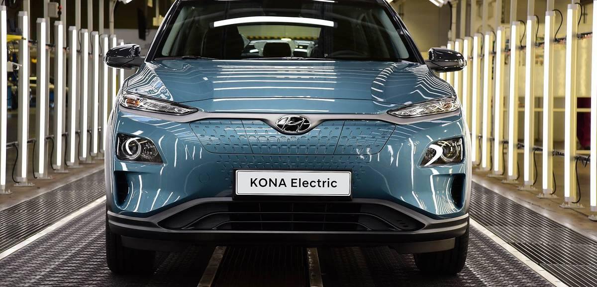 Elektryczny Hyundai z fabryki w Czechach