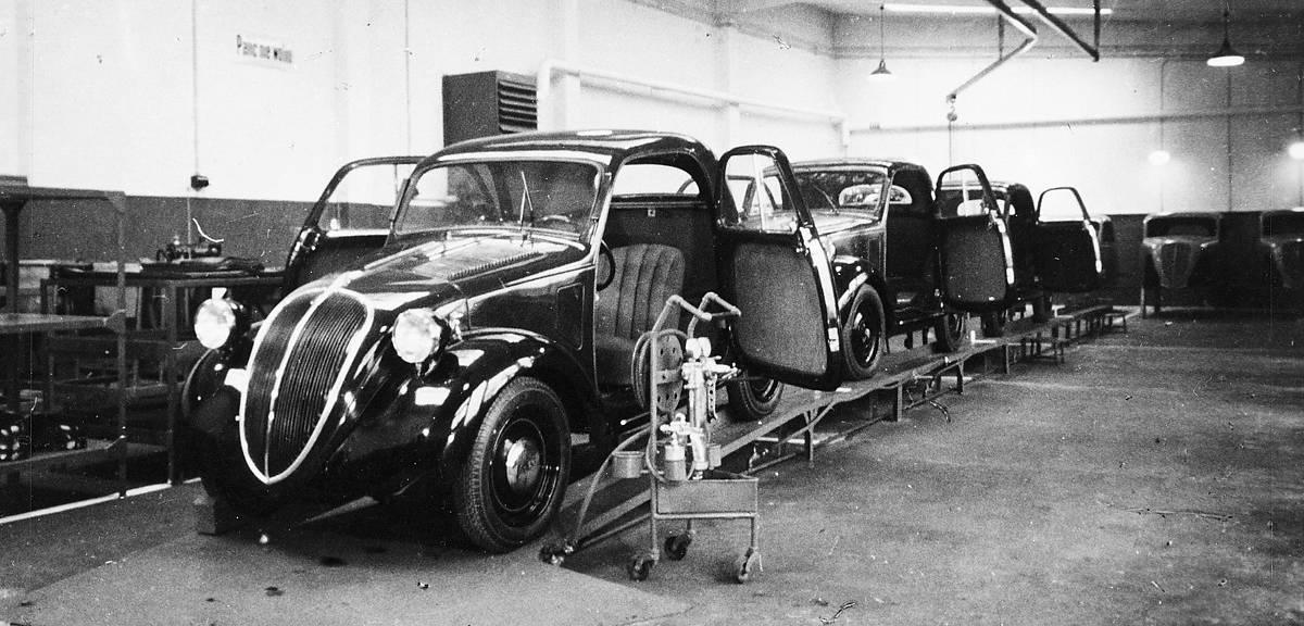 100 lat Fiata w Polsce